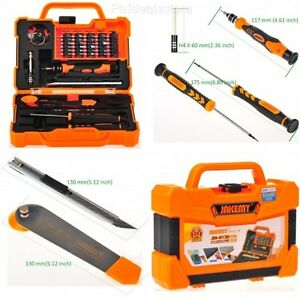 computer repair screwdriver kit set professional tools tablet laptop smartphone ebay. Black Bedroom Furniture Sets. Home Design Ideas