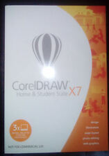 CorelDraw (cdhsx7iembeu) Home and Student Suite X7 - 3 PC Windows 7, 8 e 10