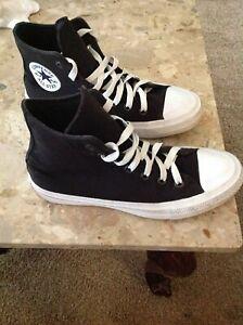 743ff34fc0ad Converse Chuck Taylor All Star II Hi Sneakers Lunarlon Black 150143C ...