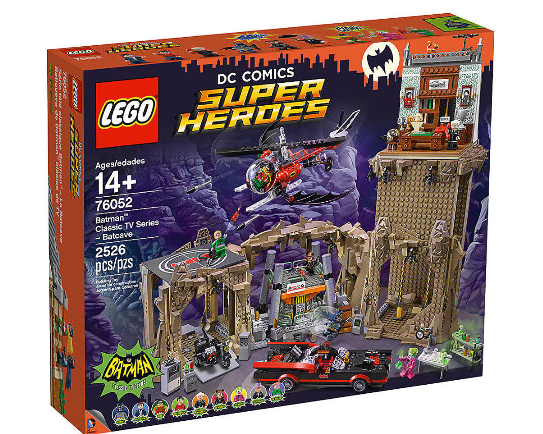LEGO ® DC COMICS SUPER HEROES 76052 SERIE TV BATMAN CLASSIC BATCAVERNA