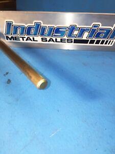 "1/"" Diameter x 12/""-Long 360 Brass Round Bar--/>1/"" Dia 360 Brass Rod LATHE STOCK"