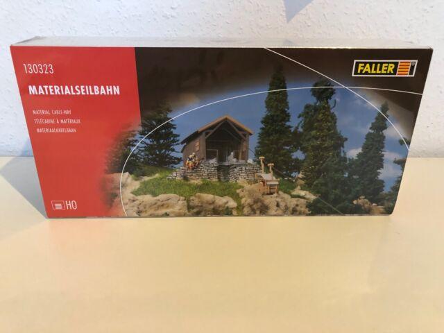 Escala H0 Faller 130323 Kit Construcción Teleférico con Motor Nuevo Emb. Orig.