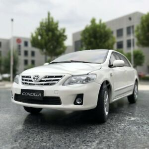 Image Is Loading Car Model Toyota Old Corolla 1 18 White