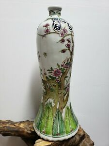 OLD-CHINESE-HAND-PAINTED-PORCELAIN-VASE