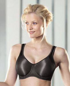 a237bfb0edbc0 Image is loading Anita-Momentum-5519-Metallic-Black-Underwire-Sports-Bra-