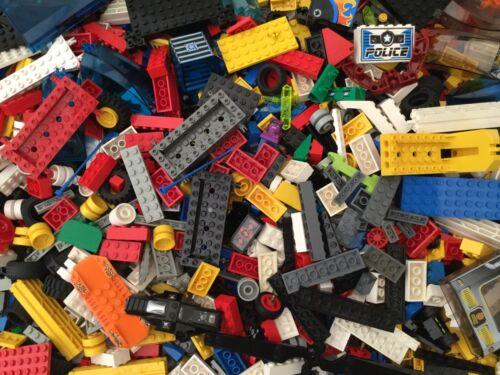 Genuine Lego Bundle 1kg-1000g Mixed Brick Parts Pieces Starter Set Bulk Job Lot