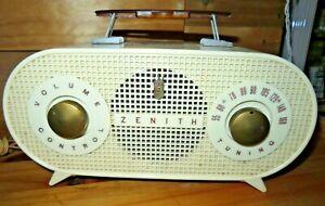 vintage-MCM-1954-1955-Zenith-Tube-Radio-Model-R510-W-Works-amp-looks-perfect