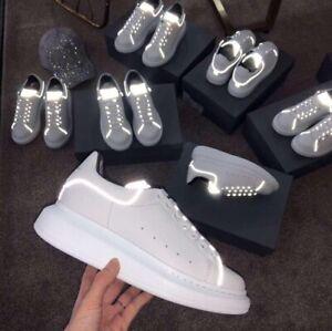 Dettagli su Scarpe Alexander McQueen OVERSIZE Sneakers uomo donna shoes dal  numero 35 al 45