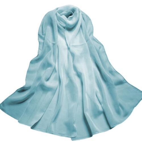 Fashion Women/'s Scarf Gradient Color Long Wrap Shawl Chiffon Scarf Scarves Cape