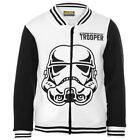 DISNEY gilet veste polaire noir et blanc STAR WARS taille 5-6 ans NEUF