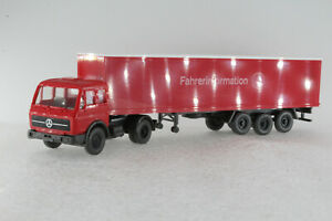 A-s-s-Wiking-ALT-werbemodell-MB-1626-mercedes-conductor-Information-GK-8-1981-PFA