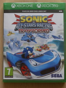 Sonic-and-All-Stars-Racing-Transformed-For-XBox-360-amp-XBox-One-New-amp-Sealed