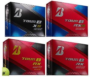 2018-2019-Bridgestone-Tour-B-Golf-Ball-2-Dozen-RX-RXS-XS-PICK-YOUR-MODEL