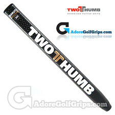 2 Thumb Snug Daddy 30 Midsize Putter Grip - Black / White / Gold + Free Tape
