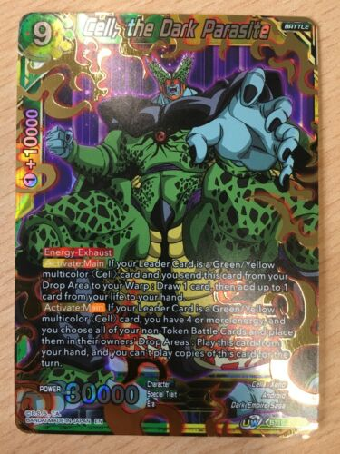 Cell Dragon Ball Super BT10-150 SR the Dark Parasite