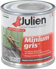 PEINTURE PRIMAIRE ANTIROUILLE MINIUM GRIS 0.125L JULIEN isole de la rouille
