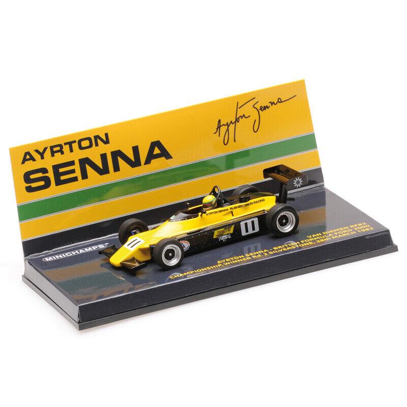 1982 Ayrton Senna Van Diemen RF82 FF2000 - 1 43 Minichamps
