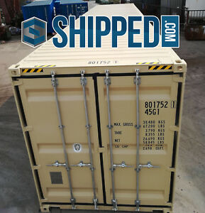 Shipping Containers For Sale Ebay >> Details About On Sale Now 40ft New One Trip High Cube Steel Shipping Container In Houston Tx