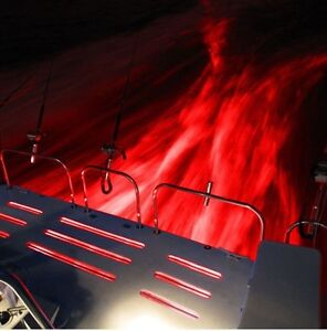 Details About 2pc X 27w Red Underwater Led Light Marine Boat Ip68