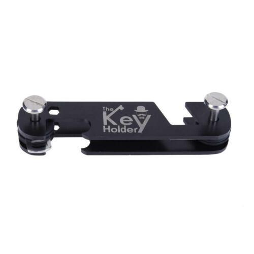 H3E# Outdoor Portable Key Organizer Folder Keys Holder Clip Keychain Travel Kit
