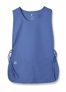 Adar Women/'s 6 Pack Cobbler Bib Apron Adjustable 2 Sides Ties Front Pockets