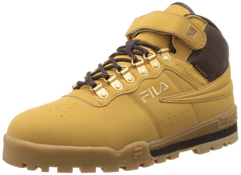Fila F-13 WEATHER TECH Mens Wheat Lace Up Hiking Boots