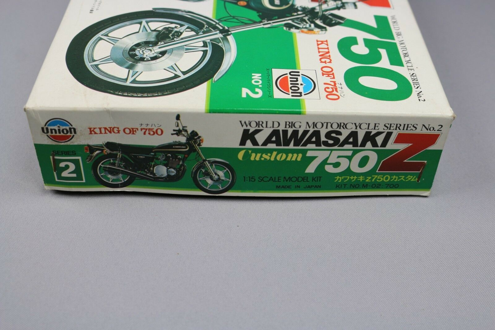 Zf1005 Union 1 15 15 15 Modellino Moto M-02   700 Costume Kawasaki Z750 Moto Serie fbec99