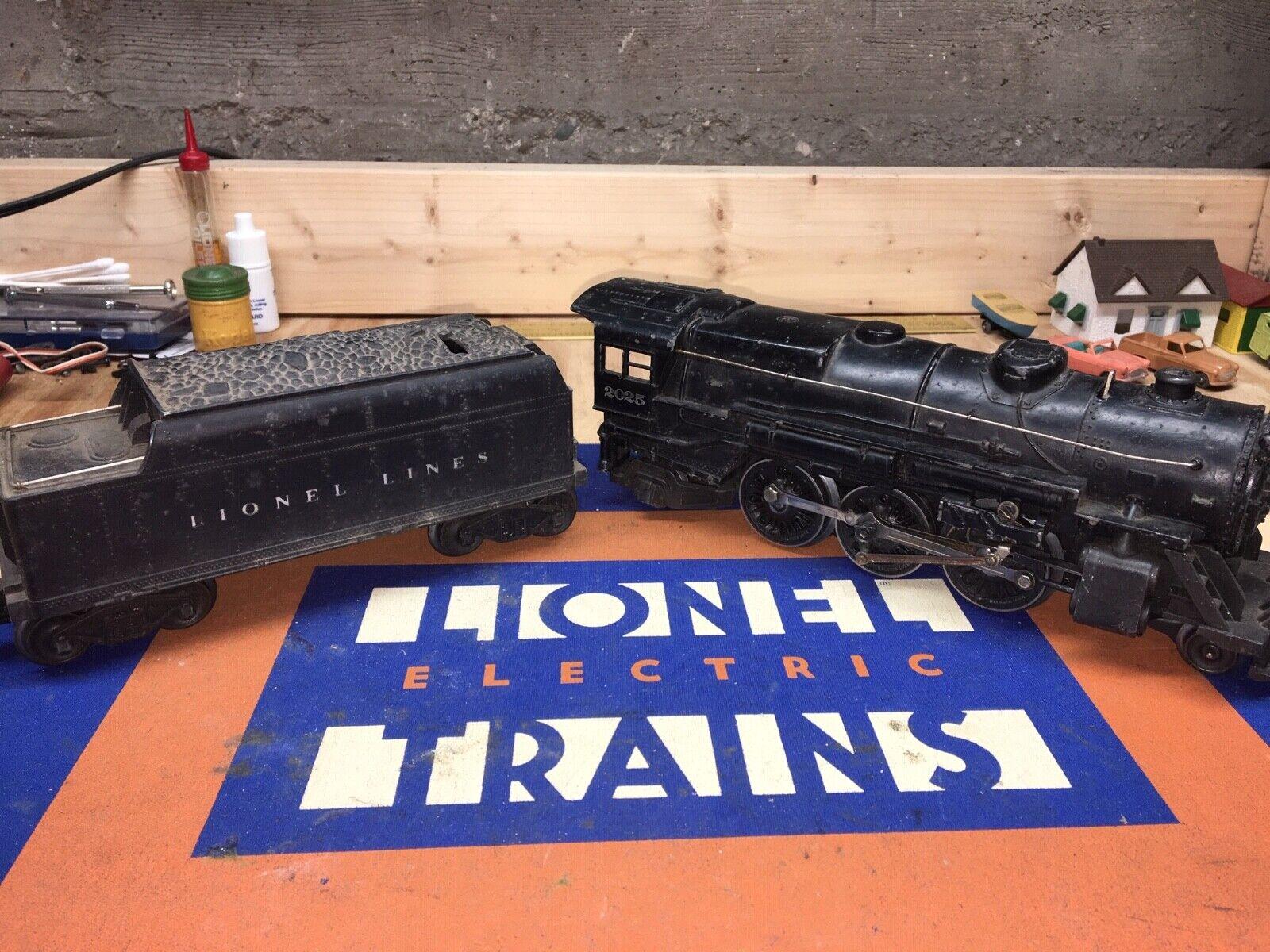 Lionel 2025 Locomotora de vapor