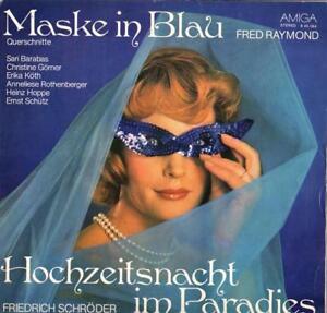 Fred-Raymond-Friedrich-Schroeder-Maske-in-Blau-Hochzeitsnacht-im-Paradies