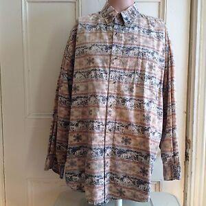 Field-amp-Stream-Shirt-Mens-Size-XXL-Hunting-Sz-2XL-Long-Sleeve