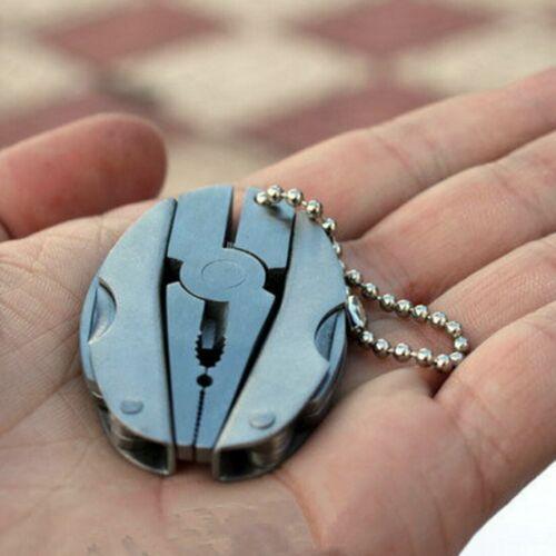 Multitools Zange Portable Faltbare Mini Zange Schlüsselbund Klemme Handwerkzeuge