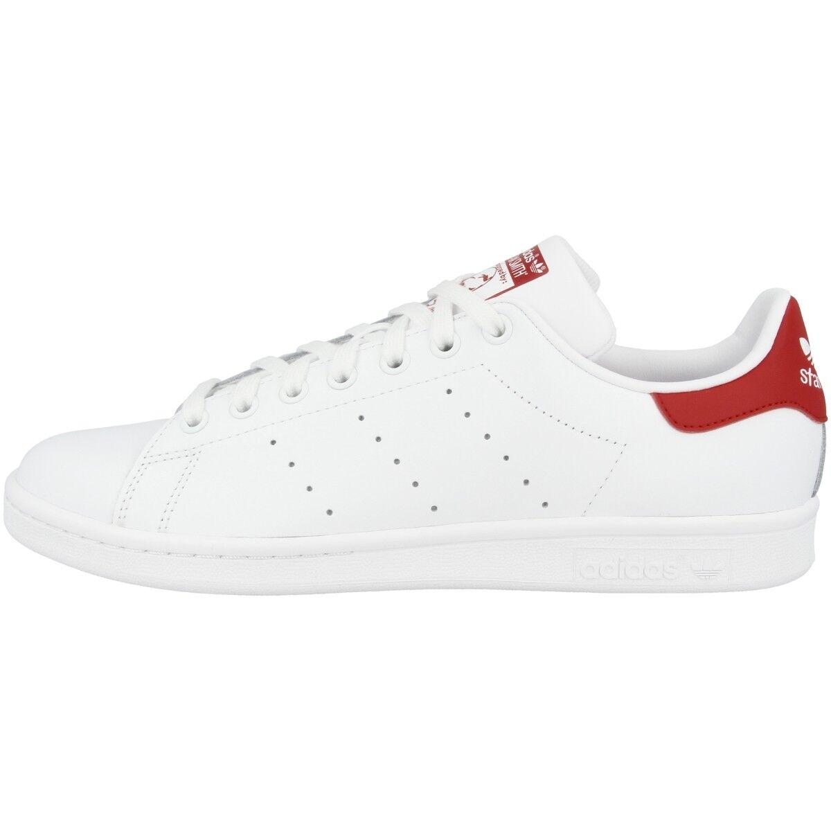 Adidas Stan Smith ROT Schuhe Retro Sneaker WEISS ROT Smith M20326 Tennis Court Samba 46c7f4