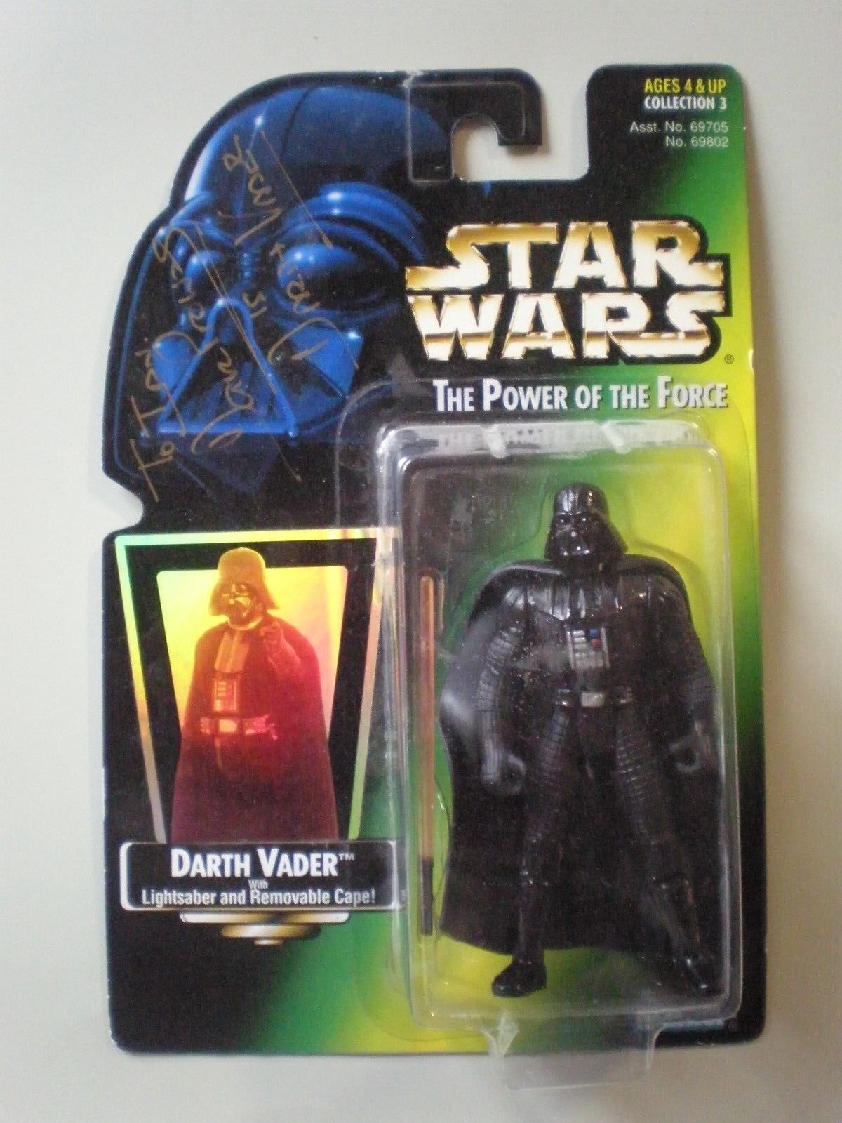 1997 Vintage Star Wars Darth Vader Figure Autographed by David Prowse