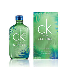 Unisex CK One Summer 2016 by Calvin Klein Eau de Toilette Spray 3.4 oz Fast Ship