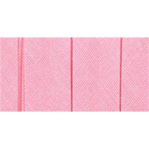 "Wrights Single Fold Bias Tape .5/""x4yd-pink"