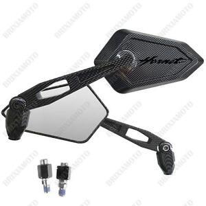 Espejos-Espejo-Street-Carbon-Look-Logo-Dunkel-Honda-CB-600-F-Hornet-CB600F-ABS