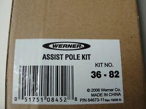 Werner Attic Ladder Assist Pole Kit No. 36-82