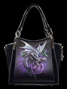 Fantasy Dragon Handtasche Motiv Beauty Lack Tasche Mit Stokes Anne 3d Drache qwAvp1R