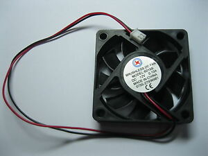 6-pcs-Brushless-DC-Cooling-Blade-Fan-6015S-12V-60x60x15mm-2-Wires-Sleeve-Bearing