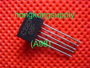 5PCS-Transistor-MITSUBISHI-ZIP-5-2SC1583-C1583