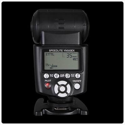 YONGNUO HSS TTL Flash Speedlite YN500EX YN-500 EX for Canon 650D 600D 550D 500D