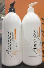 Amargan Hair Everyday 1ltr Moisturising Shampoo & Conditioner + Free Travel Set