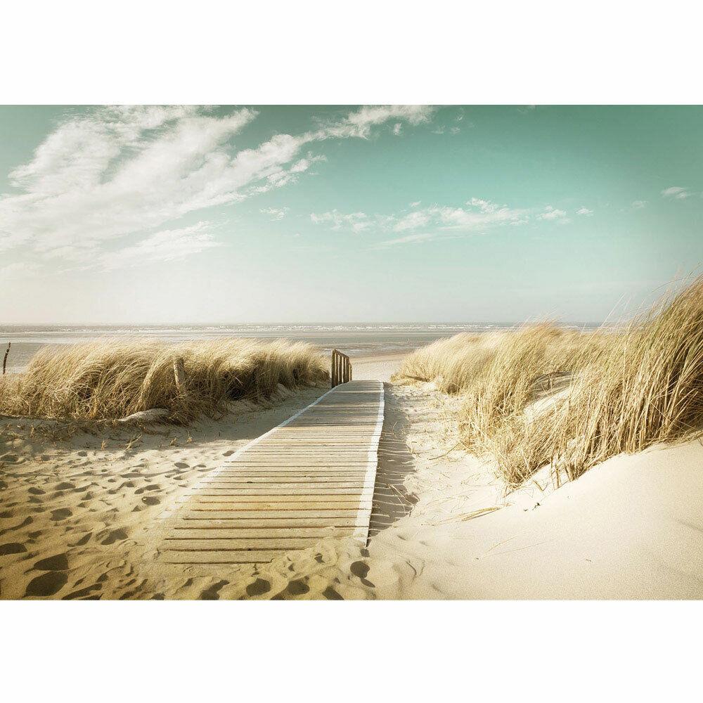 Fototapete Strand Sand Sonne Ferien Himmel liwwing no. 4583