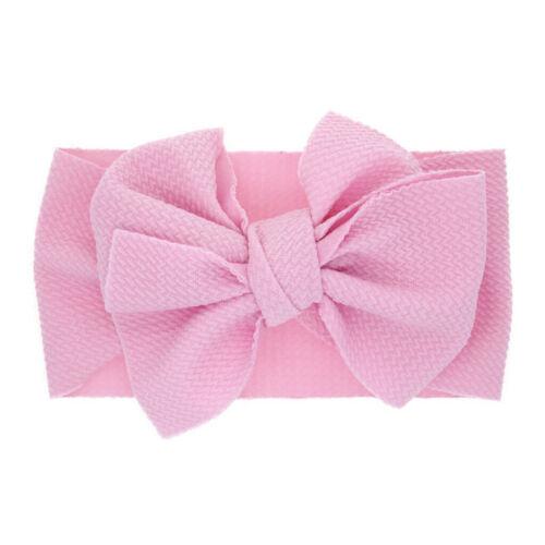 Newborn Toddler Kid Baby Girls Flowers Bow Turban Headband Headwear Accessories