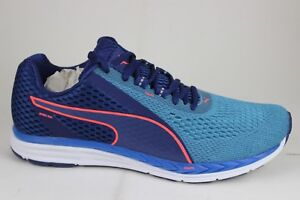 a9bc4b66183206 Puma Men s Speed 500 IGNITE 2 Blue Depths Nrgy Turquoise Running ...