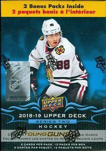 2018-19-Upper-Deck-Hockey-Series-2-Factory-Sealed-Blaster-Box