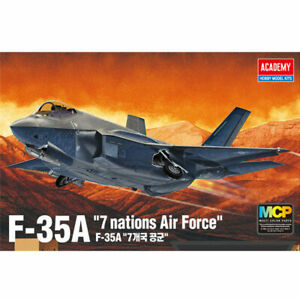 Academy-12561-1-72-F-35A-034-7-Nations-Air-Force-034-MCP-Aircraft-Plastic-model-kit