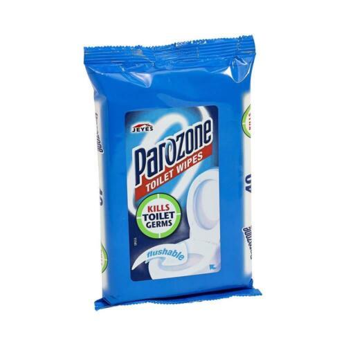 Toallitas De Inodoro Parazone 40 Toallitas por paquete mata los gérmenes Desechables De Limpieza Baño