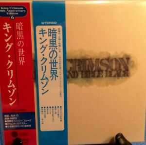 KING-CRIMSON-STARLESS-AND-BIBLE-BLACK-30TH-ANNIV-MINI-LP-CD-NEW