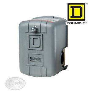 PRESSOSTATO AUTOCLAVE SQUARE D FSG-2 9013 REGOLABILE WATER PUMP PRESSURE 11816